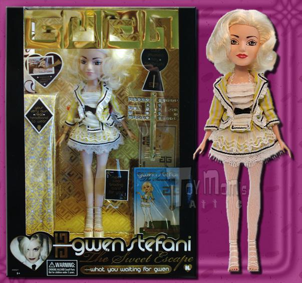 Gwen Stefani Fashion Doll Sweet Escape What Are You