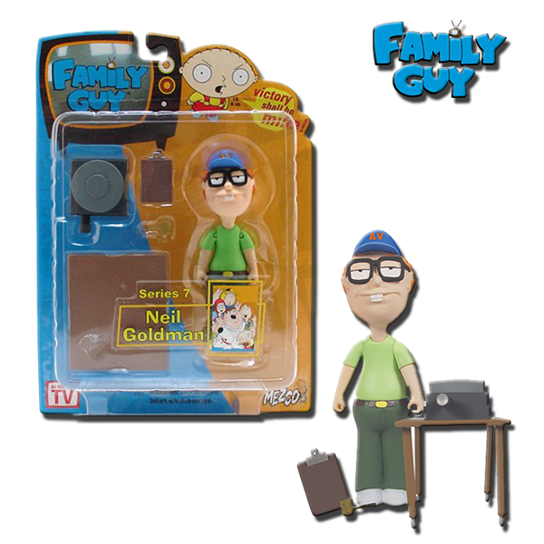 Family Guy Peters Toy Design : Family guy series neil goldman inch action figure