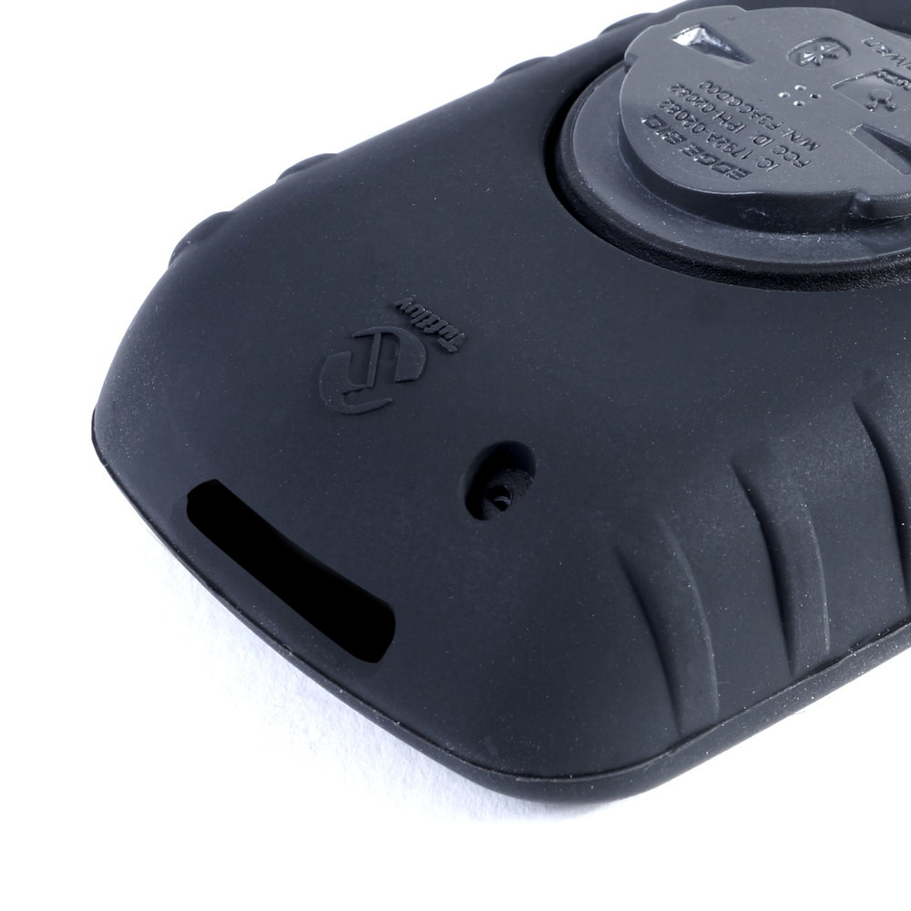 810 with Mount TUFF LUV 3 in 1 Gel Skin for Garmin Edge Touring 800 Black
