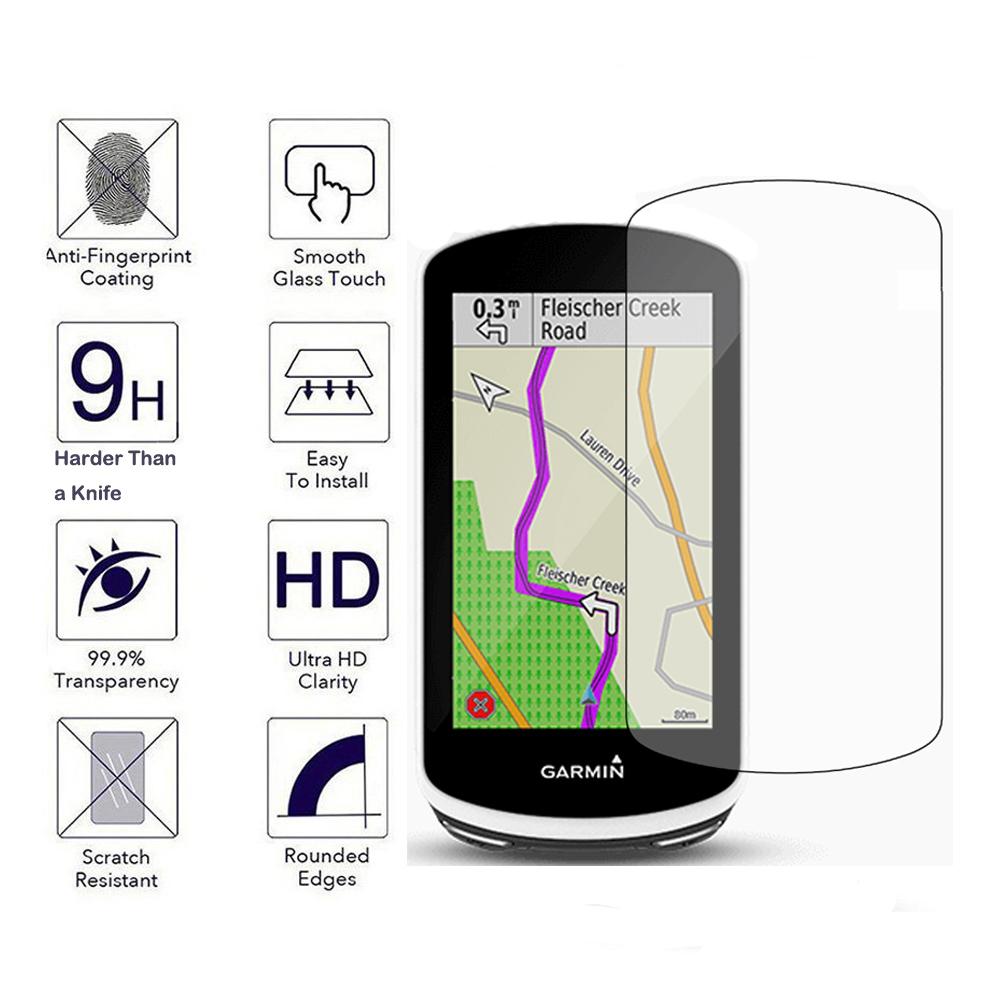Explore TUFF LUV Tempered Glass screen protection for Garmin Edge 1000