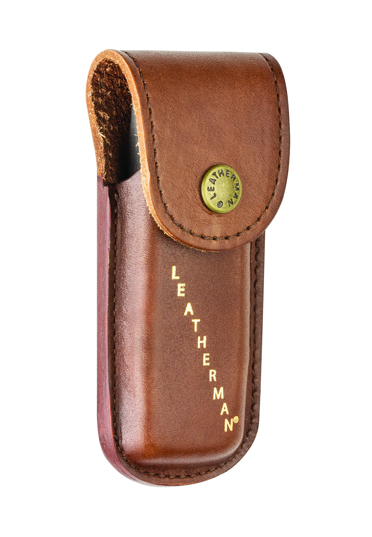 Rev Multitools. Leatherman Vintage leather Sheath for Rebar Sidekick Wingman