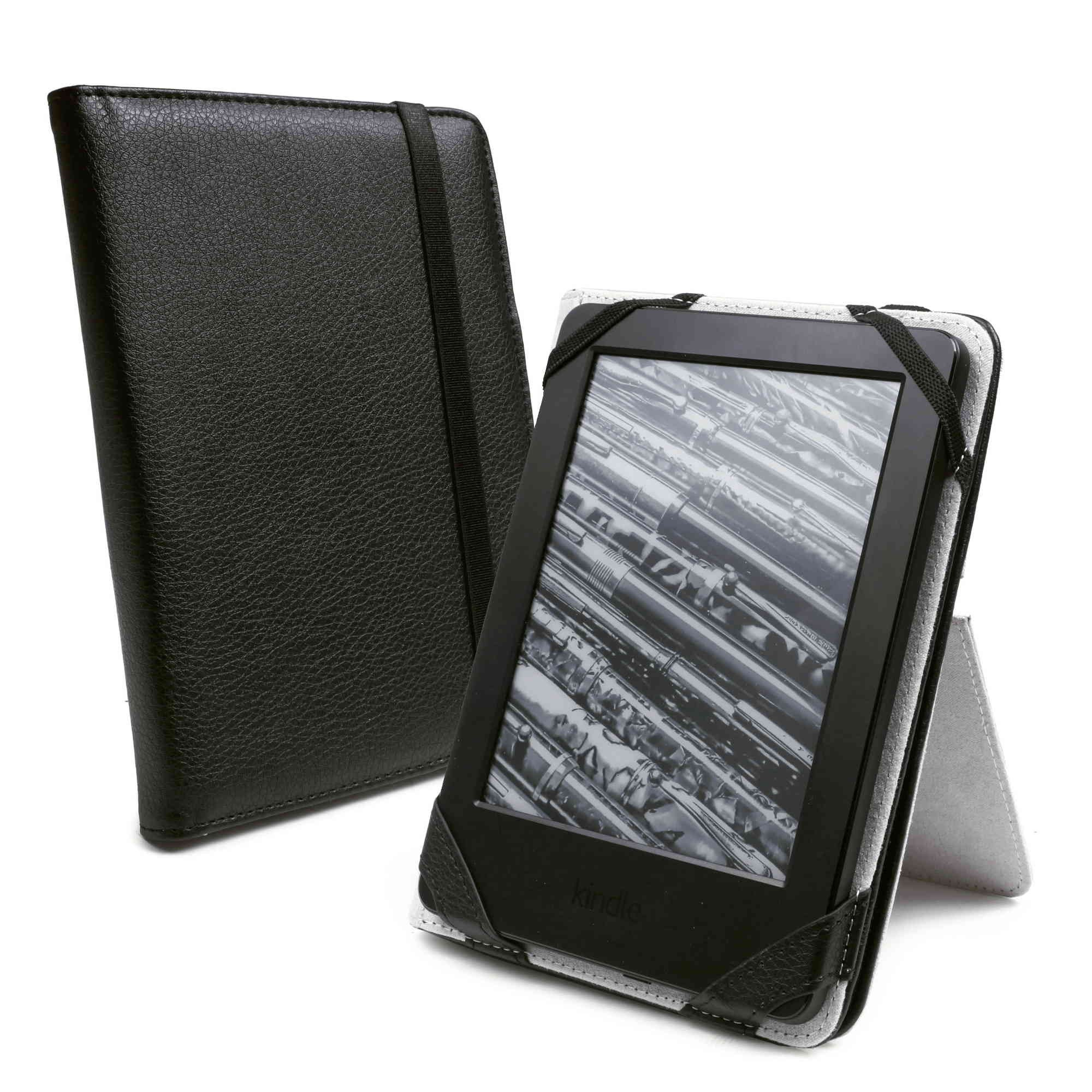 tuff luv book stand case cover for kindle touch 2014 voyage