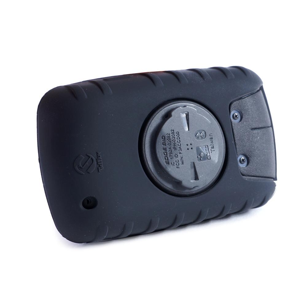 Plus /& Screen Pro E-Volve Silicone Gel Skin Case for Garmin Edge Touring Blk