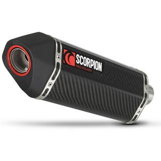 Scorpion Serket Carbon Oval Exhaust Suzuki GSX 1300R 2008 - 2017