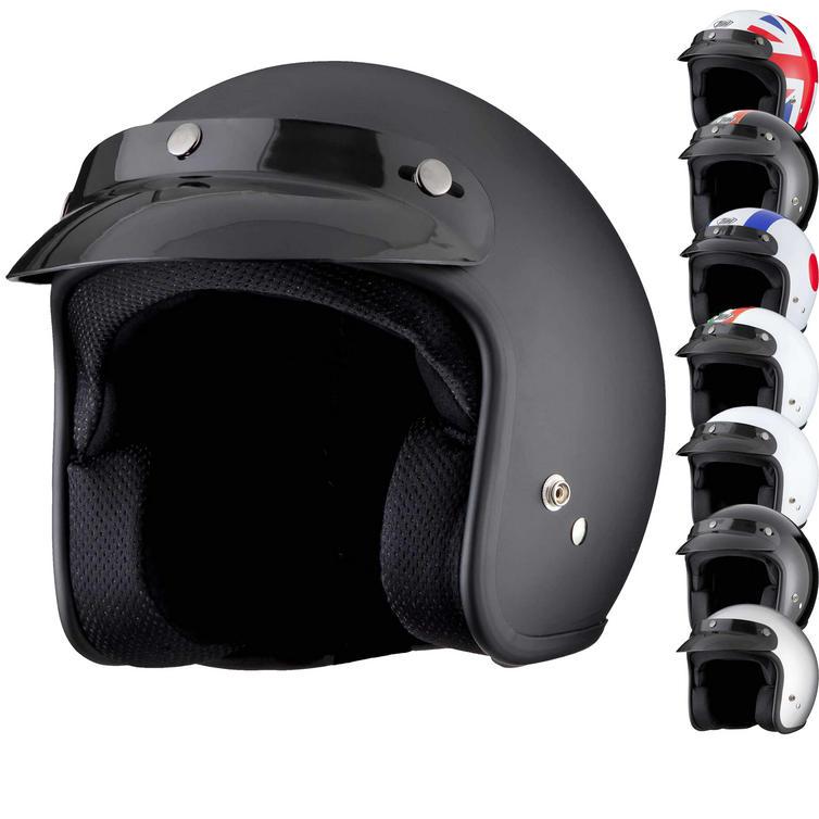 THH T-380 Open Face Cafe Helmet