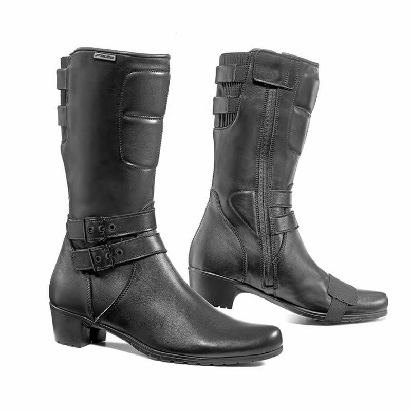 falco dyva ladies waterproof motorcycle boots ladies
