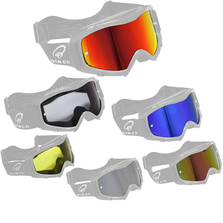 Black Rock Motocross Goggle Lens