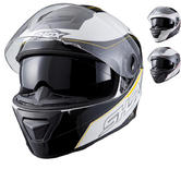 Shox Assault Tracer Motorcycle Helmet