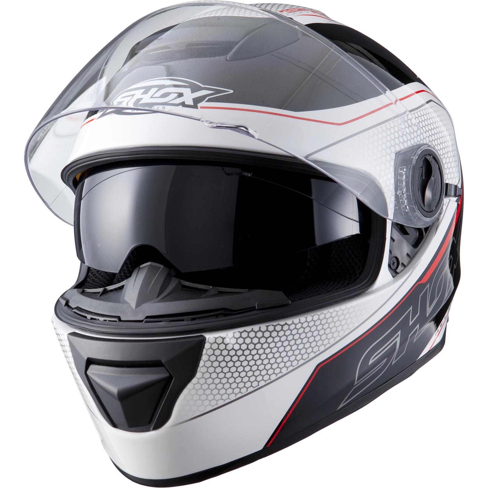 Shox Assault Tracer Integral Motorrad Helm