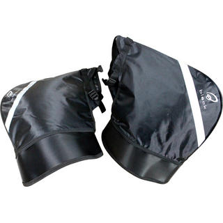 Black Meta Motorcycle Bar Muffs