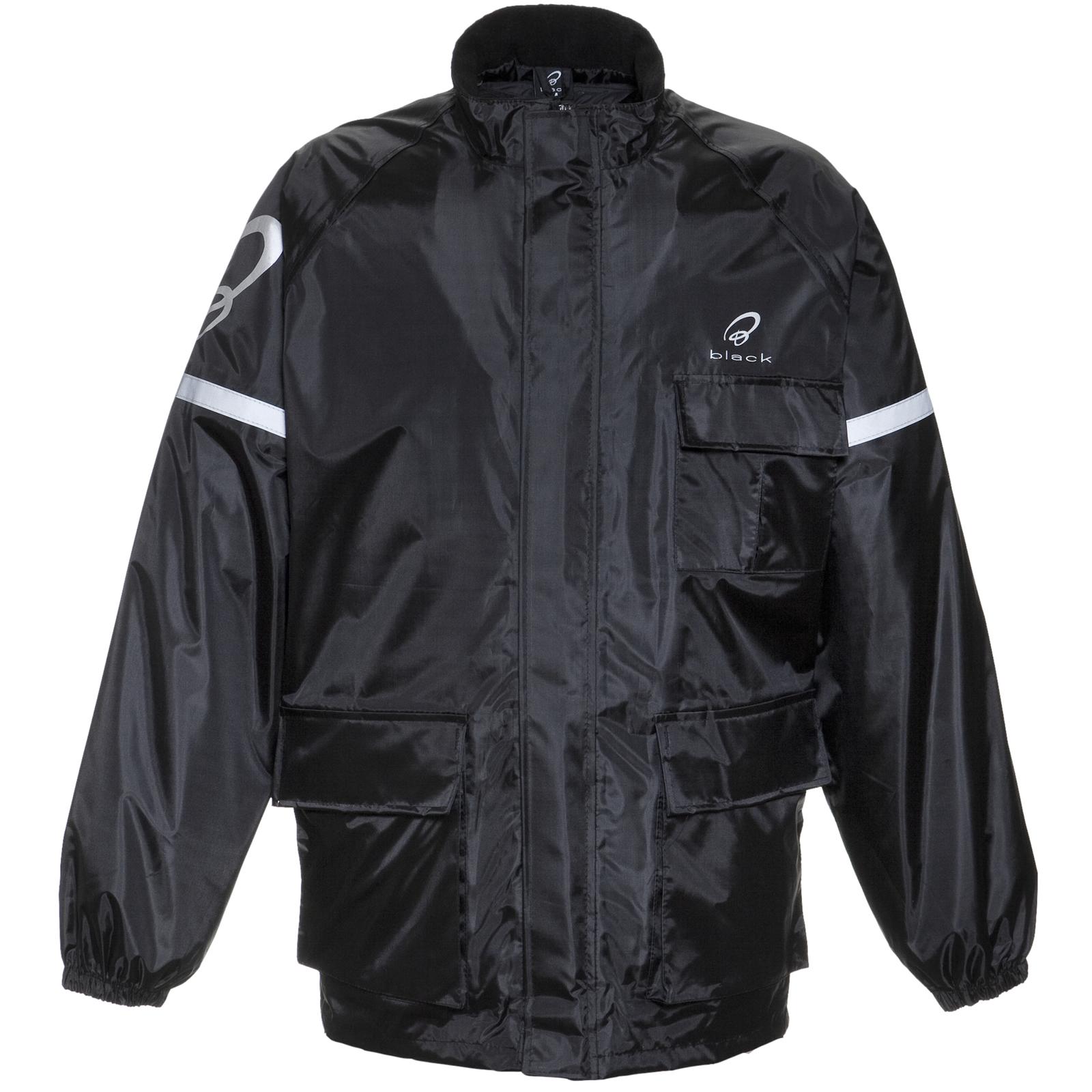Black Spectre Waterproof Motorcycle Jacket
