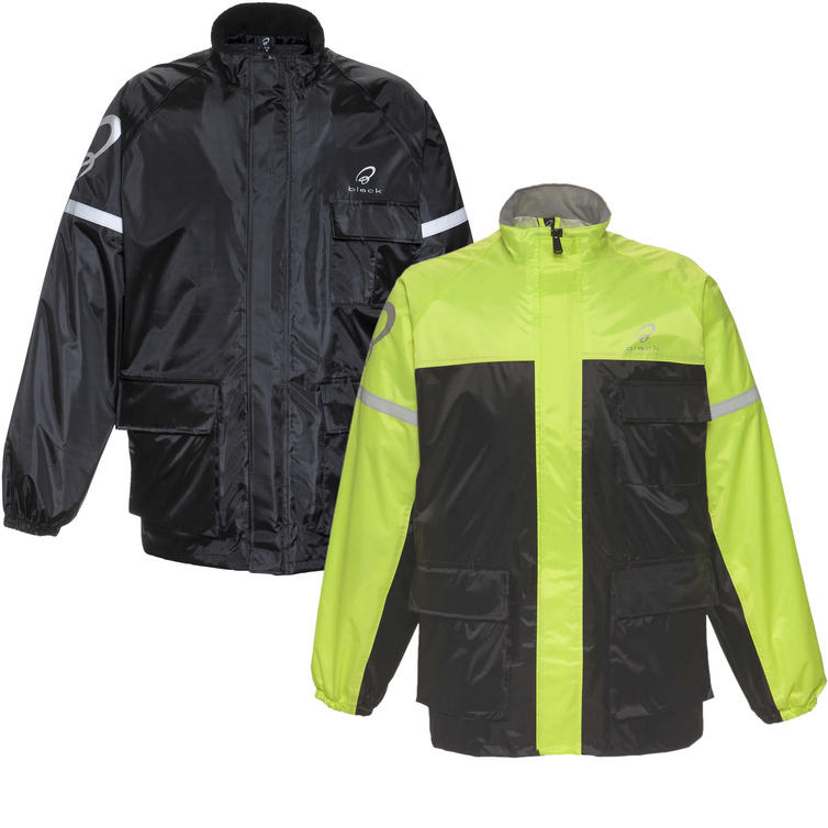 Black Spectre Waterproof Motorcycle Over Jacket