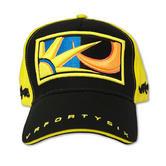 VR46 Valentino Rossi Black Yellow Sun and Moon Paddock Cap