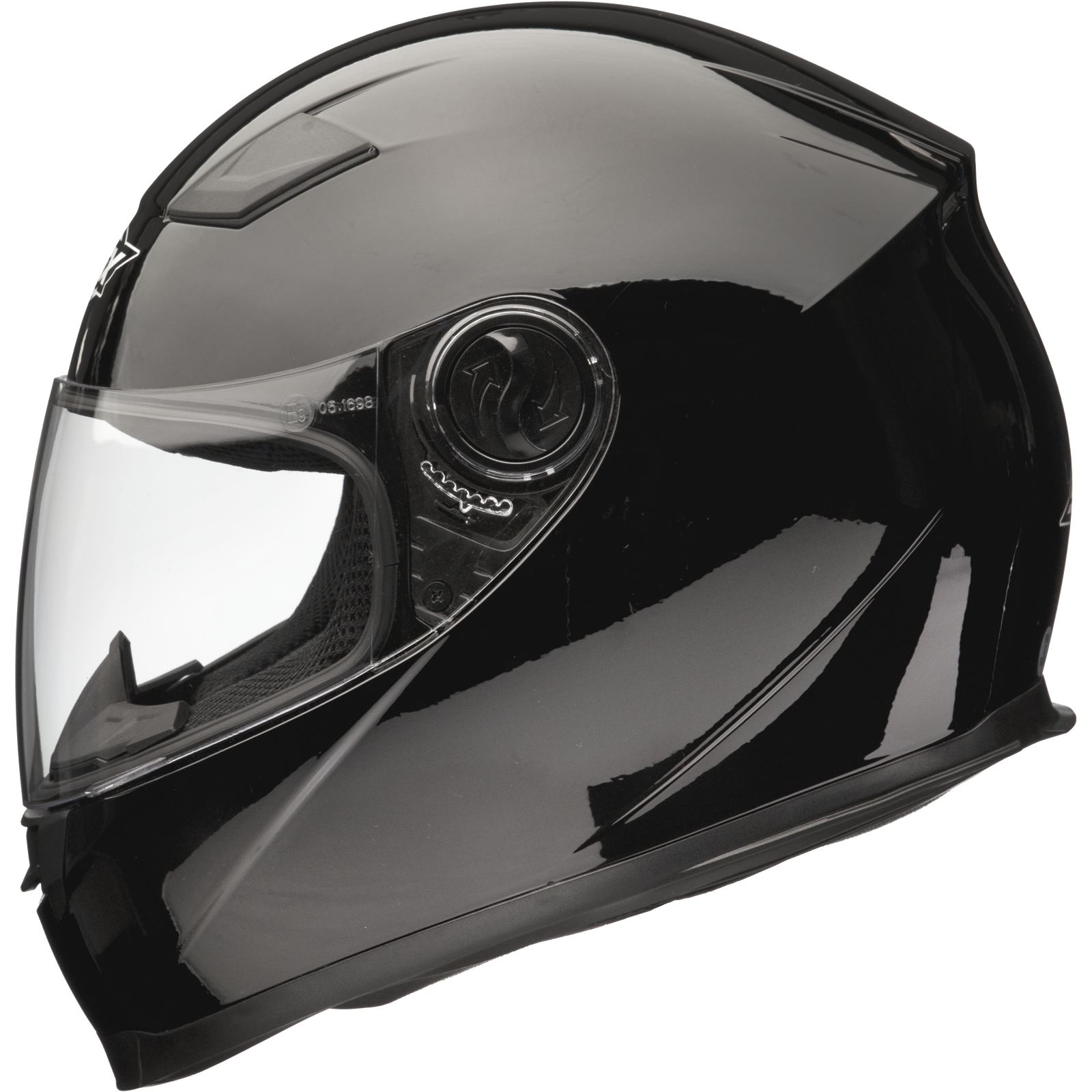 Shox Sniper Full Face ACU Gold Approved Motorbike ...