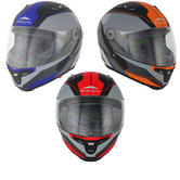 Stealth F117 Full Face Neon Motorcycle Helmet