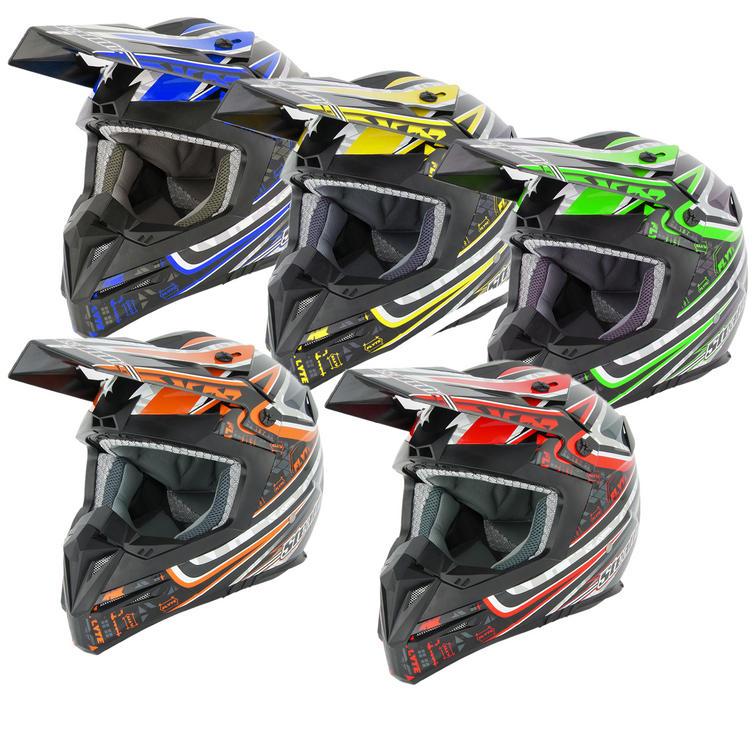 Stealth HD210 Droid Motocross Helmet