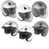 Stealth NT200 Open Face Motorcycle Helmet