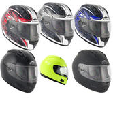 Stealth HD118 Full Face Motorcycle Helmet