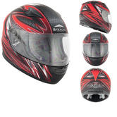 Stealth HD127 Razor Kids Motorcycle Helmet