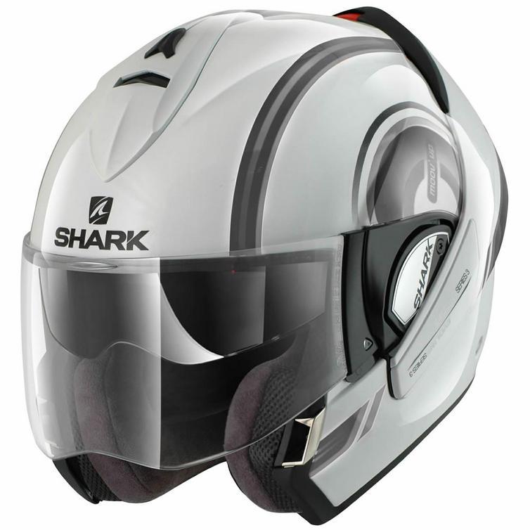 shark evoline series 3 moov up motorcycle helmet flip front helmets. Black Bedroom Furniture Sets. Home Design Ideas