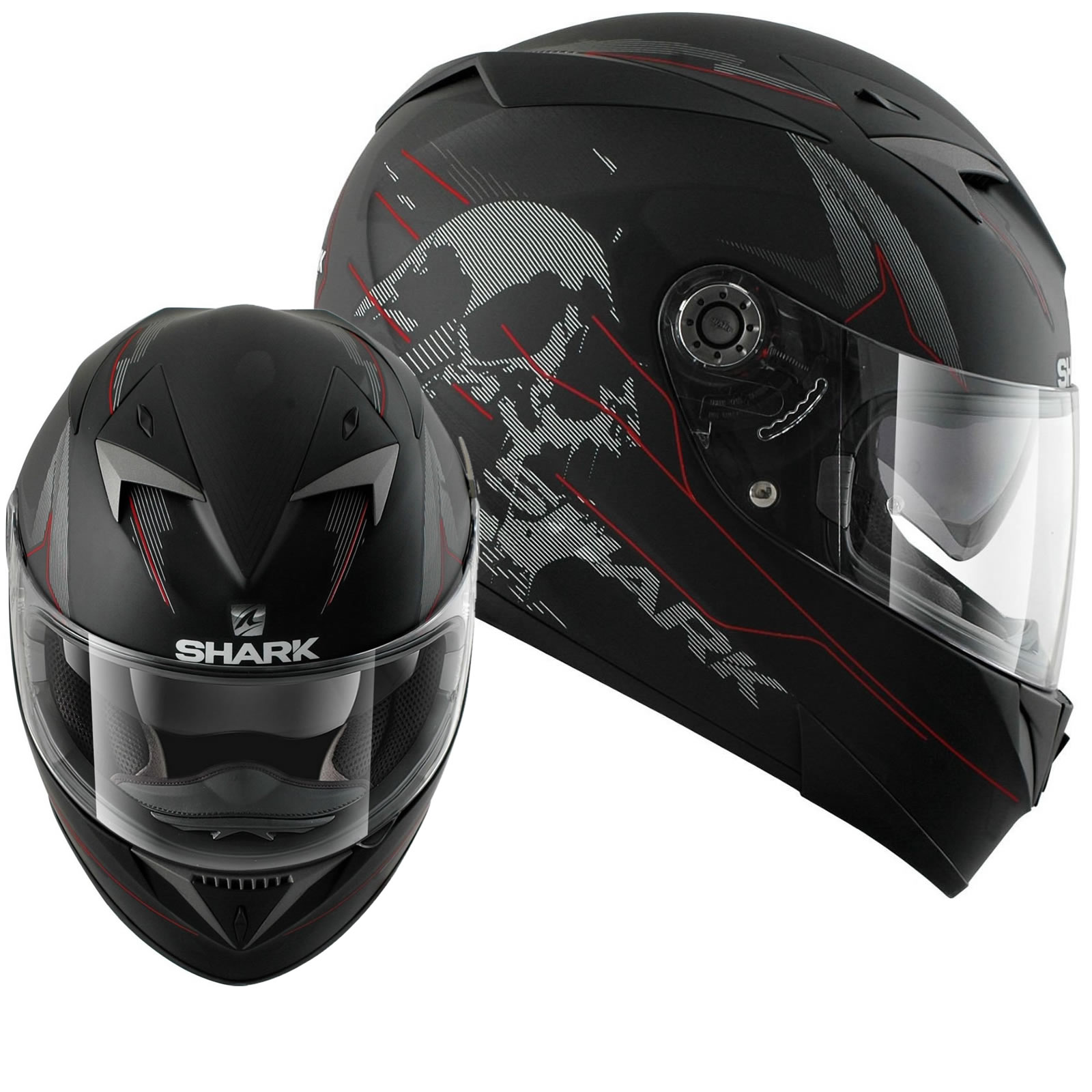 shark s700 s naka mat motorcycle helmet full face helmets. Black Bedroom Furniture Sets. Home Design Ideas