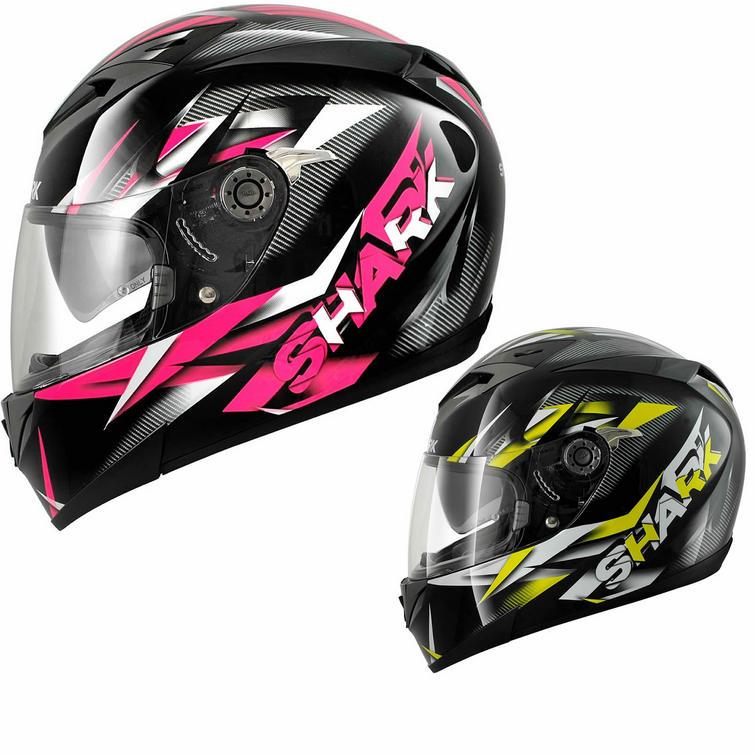 Shark S700 S Nasty Motorcycle Helmet Full Face Helmets