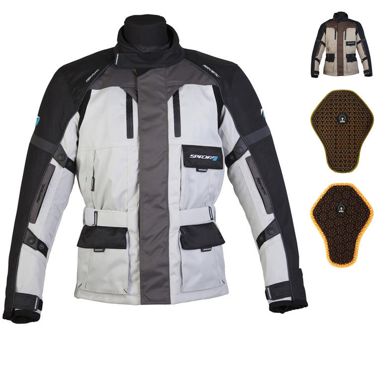 Spada Explorer Motorcycle Jacket And Back Protector