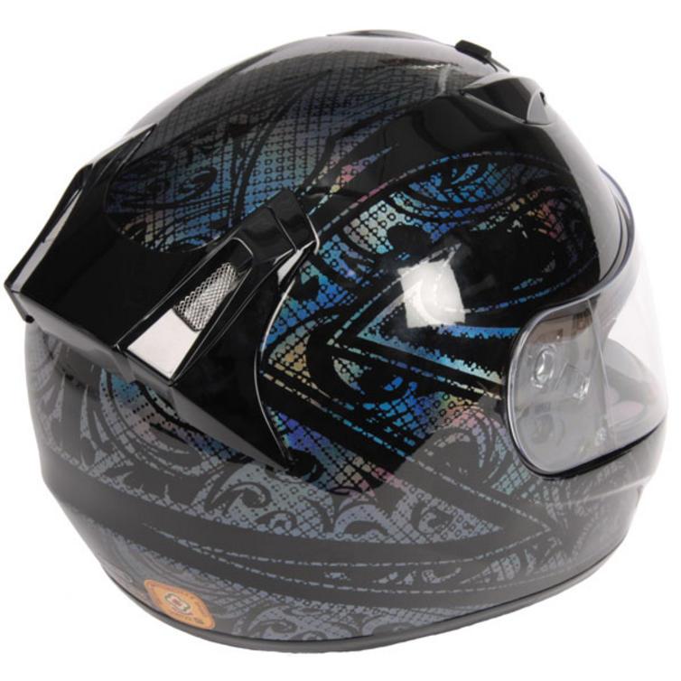 hjc fg 15 prism motorcycle helmet full face helmets. Black Bedroom Furniture Sets. Home Design Ideas