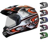 THH TX-13 #3 Dual Sport Motocross Helmet