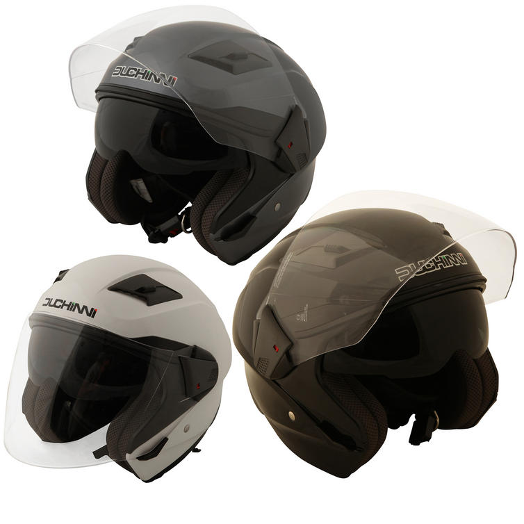 Duchinni D205 Jet Open Face Motorcycle Helmet