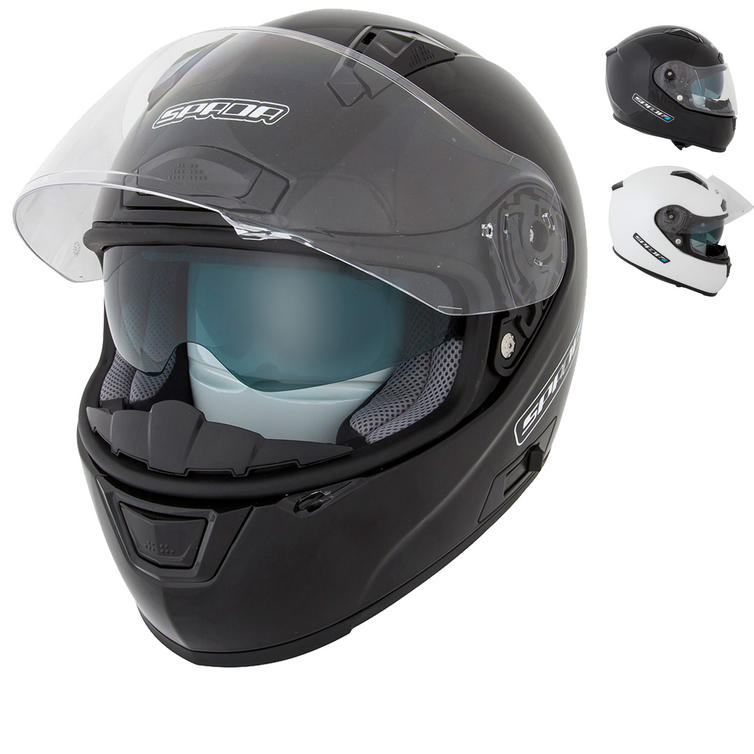 Spada Arc Plain Motorcycle Helmet