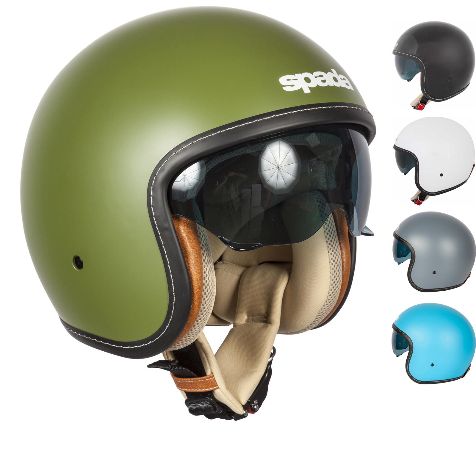 Spada Raze Open Face Motorcycle Helmet ...