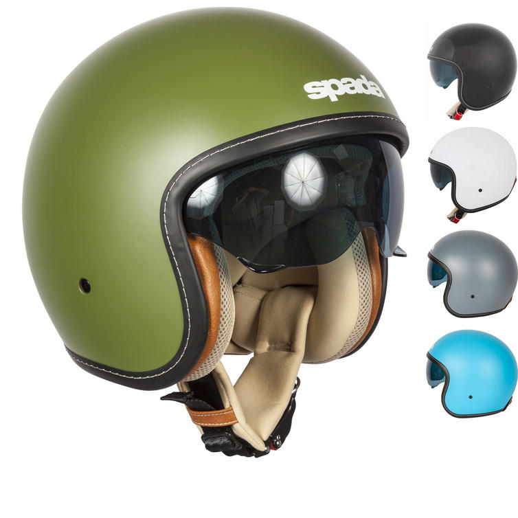 Spada Raze Open Face Motorcycle Helmet