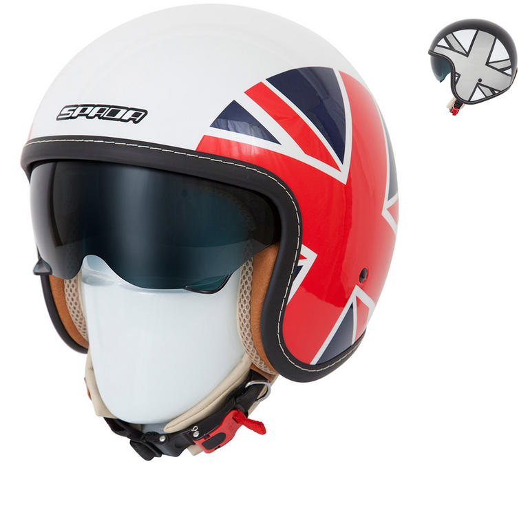 Spada Raze Empire Open Face Motorcycle Helmet