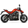 Scorpion Serket Taper Stainless Oval Exhaust - Kawasaki Z1000 2014 No Panniers Thumbnail 4