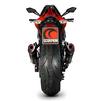 Scorpion Serket Taper Satin Titanium Oval Exhaust - Kawasaki Z1000 2014 - 2018 No Panniers Thumbnail 5