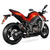 Scorpion Serket Taper Satin Titanium Oval Exhaust - Kawasaki Z1000 2014 No Panniers Thumbnail 3