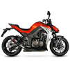 Scorpion Serket Taper Satin Titanium Oval Exhaust - Kawasaki Z1000 2014 No Panniers Thumbnail 4