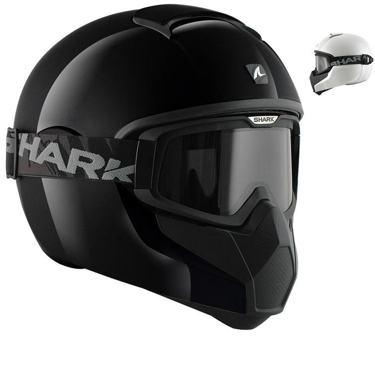 Shark Vancore Plain Gloss Motorcycle Helmet