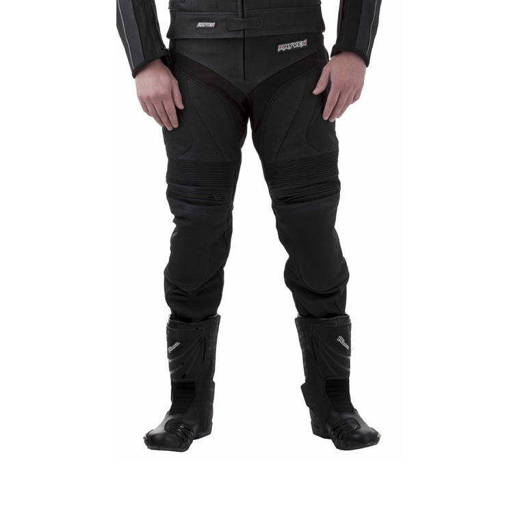 Rayven Evo-Force Leather Motorcycle Jeans