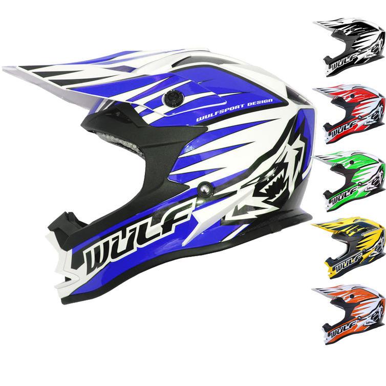 Wulf Advance Motocross Helmet