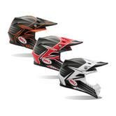 Bell Moto-9 Carbon Pinned Motocross Helmet