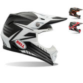 Bell Moto-9 Carbon Pinned Motocross Helmet