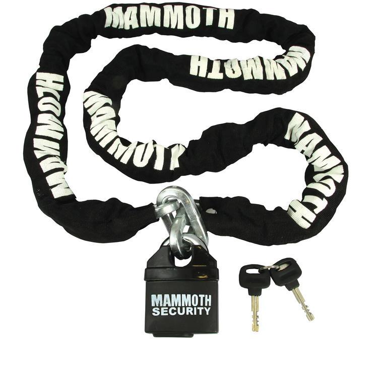 Bike It Mammoth 1.8m Motorbike Chain & Lock
