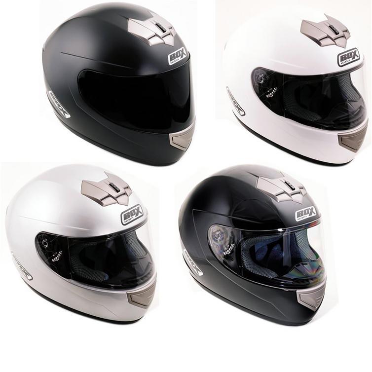 Box BX-1 Plain Motorcycle Helmet