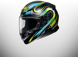 Shoei NXR Helmets - Graphics inc Inception | Terminus | Brigand | Lunar | Bradley | Marquez Indy | Marquez Digi Ant & Plain -