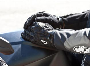 Motorcycle Gloves | Motocross Gloves - Motorbike gloves | Racing gloves | Sport bike gloves | Touring gloves | Leather -