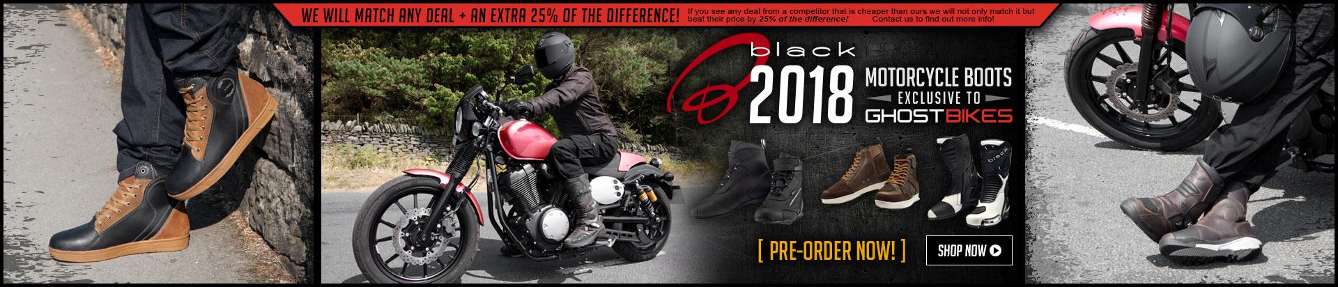 Black 2018 Boots
