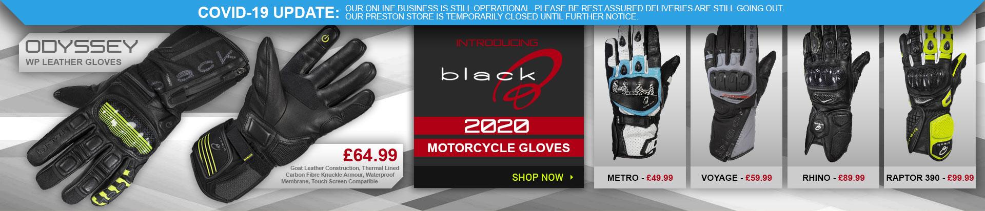 Black 2020 Gloves