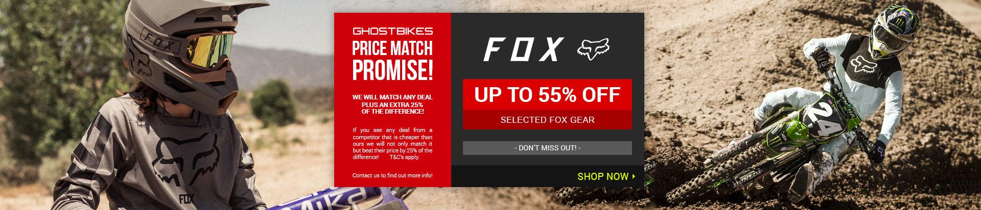 Fox 55% Off
